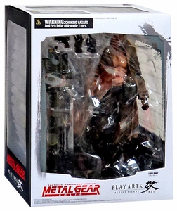 Metal Gear Solid 2: Sons of Liberty Play Arts Kai Action Figure Liquid Snake New!