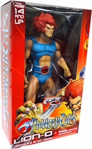 Mezco Thundercats Mega Scale 14 Inch Action Figure Lion-O [Long Sword] Damaged Package, Mint Contents!