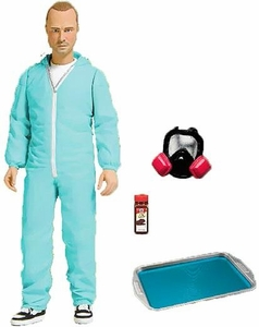 Mezco Toyz Breaking Bad Exclusive 6 Inch Action Figure Jesse Pinkman [Blue Hazmat Suit] Pre-Order ships July