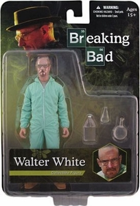 Mezco Toyz Breaking Bad Previews Exclusive 6 Inch Action Figure Walter White [Blue Hazmat Suit]