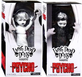 Mezco Toyz Living Dead Dolls Psycho Set Norman & Marion Pre-Order ships April