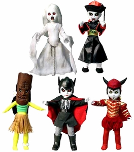 Mezco Toyz Living Dead Dolls Series 27 Set of 5 Figures New!