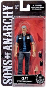 Mezco Toyz Sons of Anarchy Action Figure Clay Morrow New!