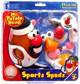 Miami Heat Mr. Potato Head NBA Sports Spuds