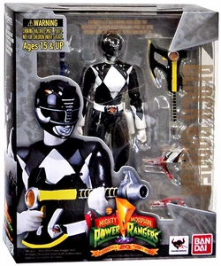 Mighty Morphin Power Rangers S.H. Figuarts Action Figure Black Ranger New!