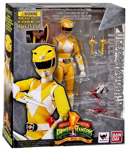 Mighty Morphin Power Rangers S.H. Figuarts Action Figure Yellow Ranger
