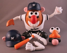 Milwaukee Brewers Mr. Potato Head MLB Sports Spuds