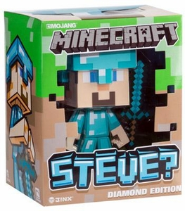 Minecraft 6 inch Vinyl Figure Diamond Edition Steve