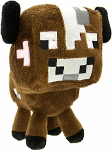Minecraft Baby Animal Plush Cow New!