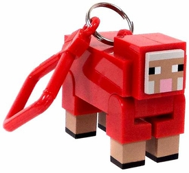 Minecraft Hangers 3 Inch Figure Red Sheep [Chase Variant] New!