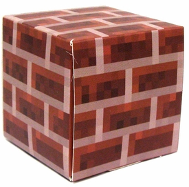 Minecraft Jazwares Papercraft Brick Block