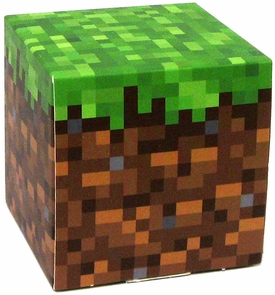 Minecraft Jazwares Papercraft Grass Block MEGA Hot!
