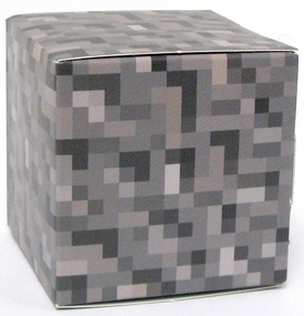 Minecraft Jazwares Papercraft Gravel Block