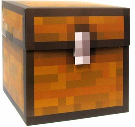 Minecraft Jazwares Papercraft Large 2-Piece Storage Block
