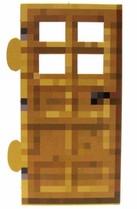 Minecraft Jazwares Papercraft Wood Door