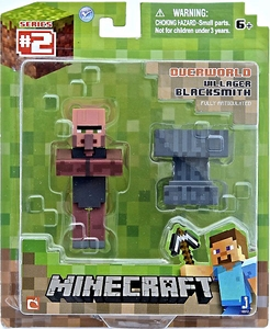 Minecraft Action Figure Blacksmith Villager New Hot!