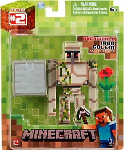Minecraft Action Figure with Accessory Iron Golem Hot! Pre-Order ships April