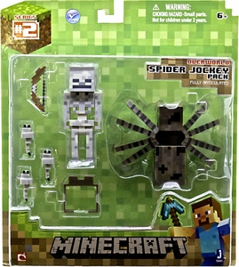 Minecraft Action Figure Spider Jockey MEGA Hot! Pre-Order ships August