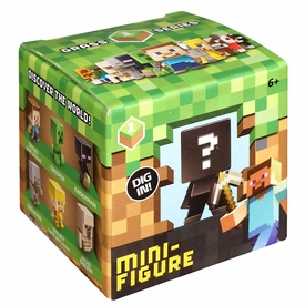 Minecraft Mattel Mystery Mini Figure Single Blind Box Pack [1 Random Mini Figure] New Hot!