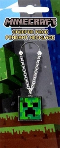 Minecraft Pendant Necklace Creeper