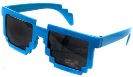 Minecraft Pixelated Sunglasses [Blue]