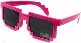 Minecraft Pixelated Sunglasses [Pink]