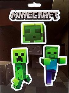 Minecraft Sticker Pack Mobs Caves