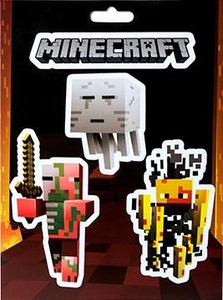 Minecraft Sticker Pack Mobs Nether