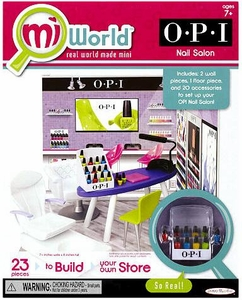 MiWorld Starter Playset OPI Nail Salon
