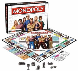 Monopoly Board Game Big Bang Theory New!