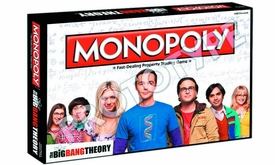 Monopoly Board Game Big Bang Theory Pre-Order ships August