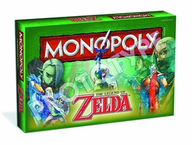Monopoly Board Game Legend of Zelda