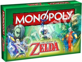 Monopoly Board Game The Legend of Zelda Pre-Order ships August