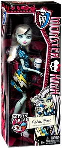 Monster High Coffin Bean BASIC Doll Frankie Stein