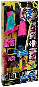 Monster High Create-A-Monster Color Me Creepy Add-On Pack Sea Monster