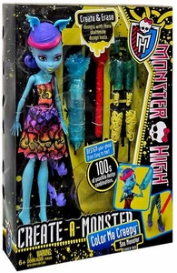 Monster High Create-A-Monster Color Me Creepy Starter Pack Sea Monster