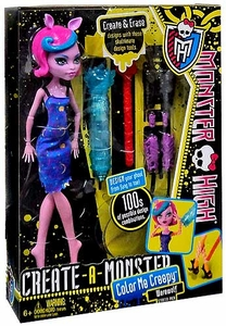 Monster High Create-A-Monster Color Me Creepy Starter Pack Werewolf