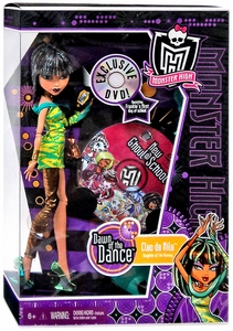 Monster High Dawn of the Dance Deluxe Doll Cleo De Nile [Includes Exclusive DVD]