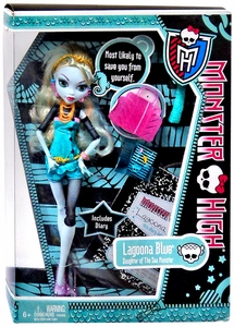 Monster High Deluxe Doll Lagoona Blue [Doll Stand & Diary]
