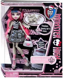 Monster High Deluxe Doll Rochelle Goyle with Pet Roux [Doll Stand & Diary]