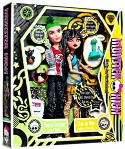 Monster High Doll 2-Pack Gift Set Deuce Gorgon & Cleo De Nile
