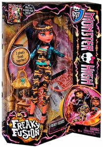 Monster High Freaky Fusion Doll Cleolei