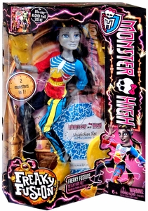 Monster High Freaky Fusion Doll Neighthan Rot