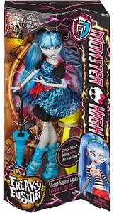 Monster High Freaky Fusion Ghouls Doll Ghoulia Yelps