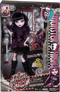 Monster High Frights, Camera, Action! DELUXE Doll Hauntlywood Elissabat