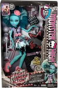 Monster High Frights, Camera, Action! DELUXE Doll Hauntlywood Honey Swamp