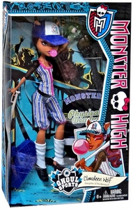 Monster High Ghoul Sports DELUXE Doll Clawdeen Wolf