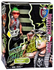 Monster High Ghouls Alive Deluxe Doll Deuce Gorgon
