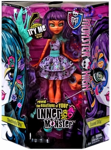 Monster High Inner Monster DELUXE Doll Shockingly Shy & Scared Silly