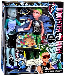 Monster High Manster Exclusive Doll 2-Pack Deuce Gorgon & Gillington